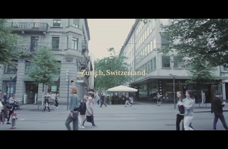 『ミキの村』「arrival-到着」(チューリッヒ・スイス)