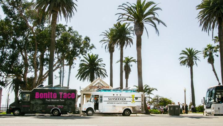 ロサンゼルスの日本式フードトラック